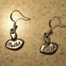 Earrings Tibetan Silver Ballet Pierced NEW #488