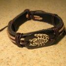 Bracelet Unisex Black Leather Scorpion Punk Style HOT! #208