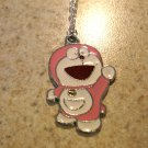 Smiling Pink Doraemon Necklace & Pendant New #646