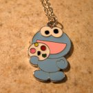 Baby Cookie Monster From Sesame Street Child Necklace & Pendant New #587