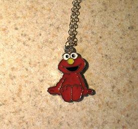 Elmo from Sesame Street Child Necklace & Pendant New #745