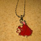 Disney Princess Red Snow White Child Necklace New #877