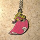 Disney Princess Aurora Child Necklace New #743