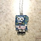 Blue Sponge Bob Child Necklace & Pendant New #648