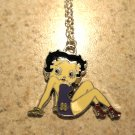 Purple Swimsuit Betty Boop Necklace & Pendant New #632