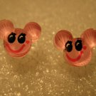 Adorable Pink Mickey Mouse Stud Earrings for Children NEW #613F