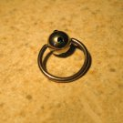 Body Piercing Jewelry 1/2 in Green Emerald Captives HOT! #824B