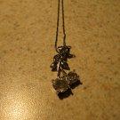 Necklace Rhinestone Swarovski Crystal Cherry #471