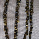 Lovely Tiger Eye 35 Inch Nugget Necklace #332 / 333