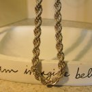 Necklace Beautiful 925 Silver Rope #863