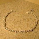 Bracelet Silver Plated Polished Carved Tubular Bead Hot! #635