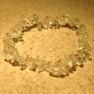Clear Ice Crystals Gemstone Bangle Bracelet HOT! #298