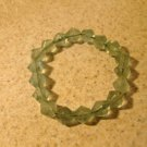 Green Crystal Bangle Bracelet New #972