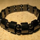 Bracelet Black Hematite Stretch Bangle NEW & HOT! #894