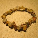 Beige & Brown Jasper Bangle Bracelet HOT! #392