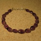 Purple Amethyst Bangle Bracelet New #292