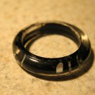 Black & White Resin Marked Fun Ring To Wear Unisex Sizes 6 NEW! #381J