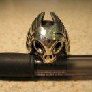 Tibetan Silver Skull Ring Unisex Size 10 HOT! #801