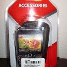 Smoke Snap on Silicone Case Blackberry 8520/8530 Phone New & Sealed #D140