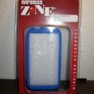 Blue Snap on Silicone Case For HTC RHYME Phone New & Sealed #D136