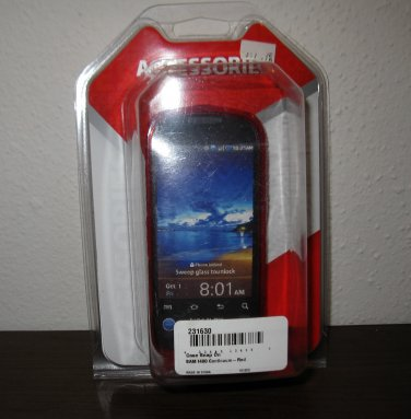 Red Snap On Cover for Samsung 1400 Continuum Phone New & Sealed #D108