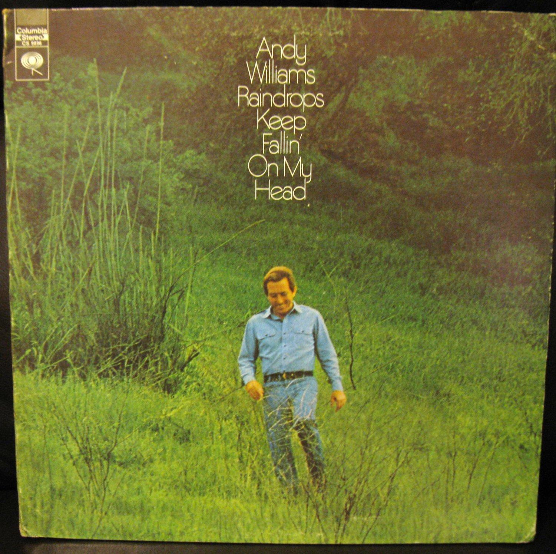 Vinyl LP Album Andy Williams RAINDROPS KEEP FALLING ON MY HEAD #6B