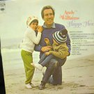 Vinyl LP Album Andy Williams- Happy Heart #6E