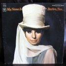 Vinyl LP Album Barbra Streisand- Name Is Barbra #16D