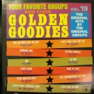 Vinyl LP Golden Goodies Vol 19 Original Artists #13A