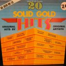 Vinyl LP Album 20 Solid Gold Hits Original Artist #13B