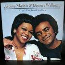 Vinyl LP Johnny Mathis & Denise Williams #23E