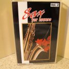 Sax For Lovers Vol 2 (Cassette, Madacy) #B37