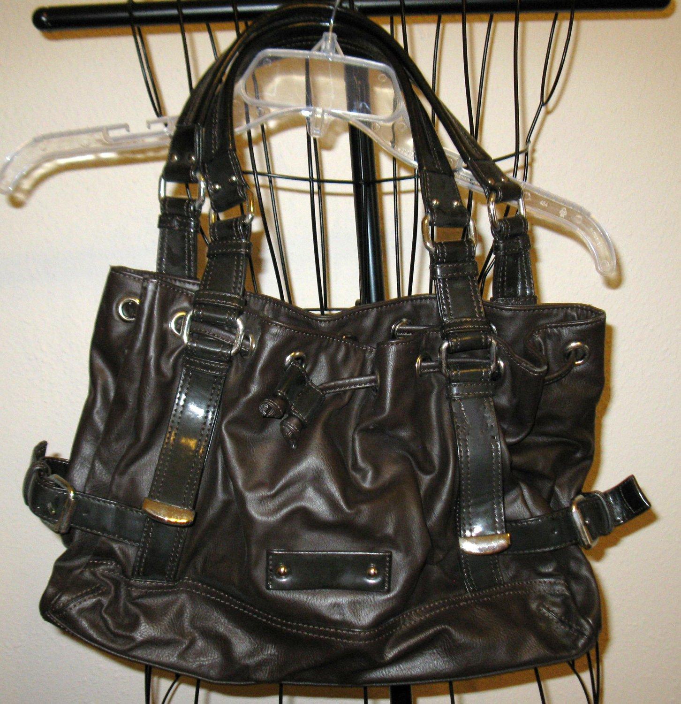 Beautiful Black Hobo Purse Handbag by Nine West Nice! #T901