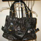 Beautiful Black Hobo Purse Handbag by Nine West Nice! #T901