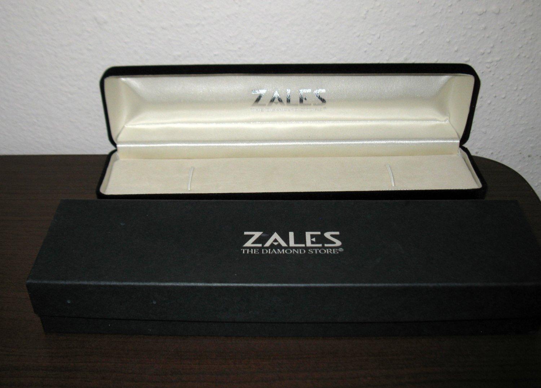 Empty Black Velvet Jewelry Box with Gift Box for Watch/Bracelet Nice! #T895