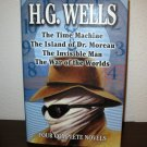 Four Complete Novels by Wells (1994, Hardcover) #T868