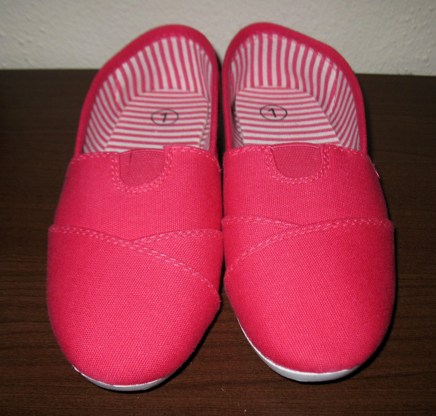 Pink Child Slip on Sneaker by Belladia From Zulily New! #X136