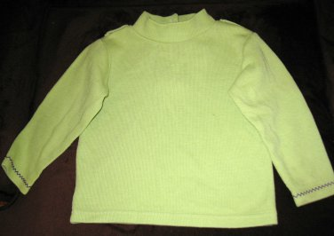 Adorable Green Shirt Top by Disney Child Size 2T Nice! #X122