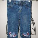 Precious Capri Blue Jeans Child Size 4T Nice! #X46