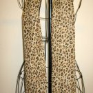 Beautiful Brown Tiger Animal Print Neck Scarf New! #D533