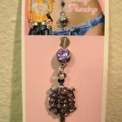 Belly Navel Ring Body Piercing Purple Amethyst Turtle Hot! #D508