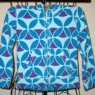 Adorable Blue Figured Hoodie by Circo Child Size XS (4/5) Nice! #X168