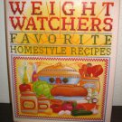 Weight Watchers Favorite Homestyle Recipes (1993 Hard Cover 1st Edition) #T1008
