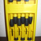 Stanley 66-052 6-Piece Screwdriver Set Nice! #R26
