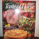 Taste of Home 2007 Annual Recipes (Hard Cover) New! #T1095