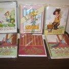 Mary Engelbrett & Laura Ashley 6 pks Blank Note Cards (54 Cards & Env) New T1096