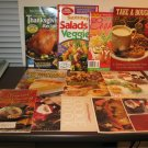 Assortment of Delicious Cookbooks Lot of 10 Books Like-New Paperback! #T1041
