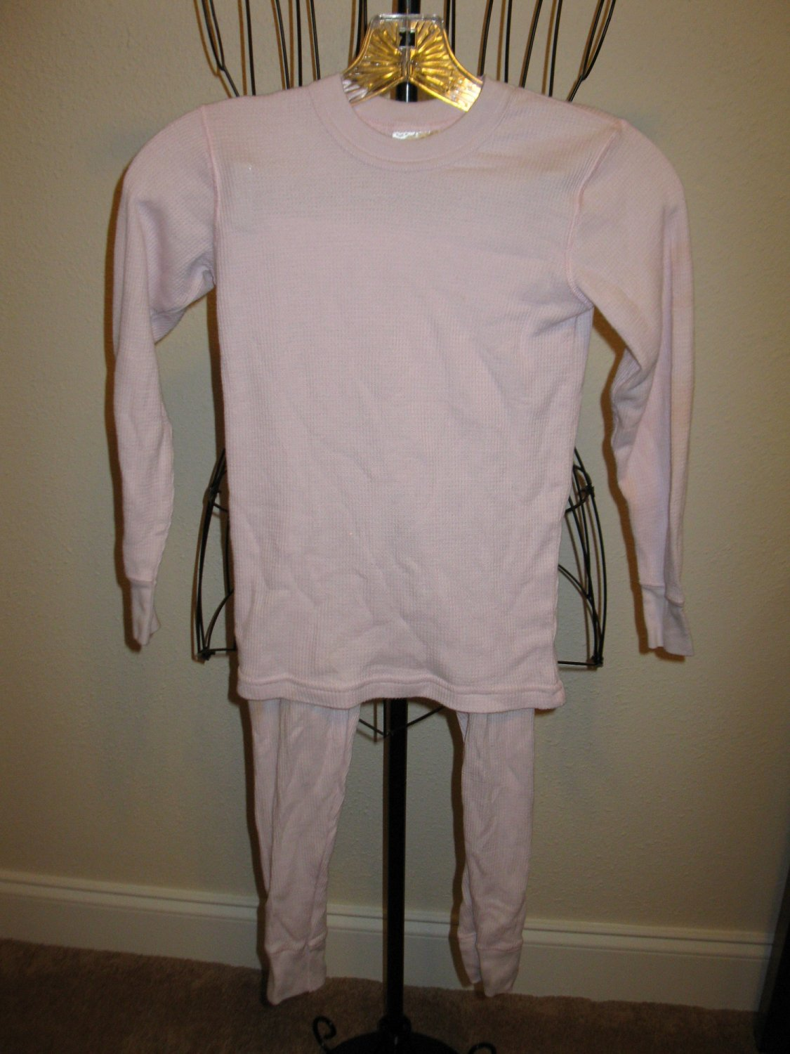 Lavender 2 pc Long Sleeve Pajamas by Polaredge Child Size S Nice! #X254