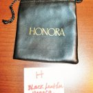 Black Honora Jewelry Bag Pouch 1 Piece (3.5 x 4.25 in) New! #D1029H