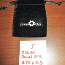 Black Jewel Ora Jewelry Bag Pouch 1 Piece (2.75 x 3.5 in) New! #D1029J